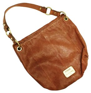 Fossil Leather Vintage Handbag Shoulder Bag