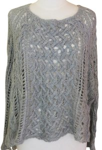 Free People Crochet Boho Tunic Sweater