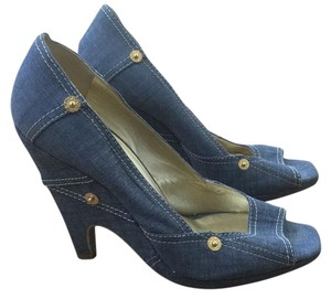 Miu Miu Blue denim Pumps
