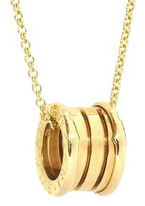 BVLGARI Bulgaria B.Zero 1 Yellow Gold Necklace