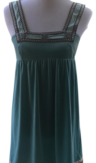 Preload https://item2.tradesy.com/images/free-people-teal-blue-tunic-size-2-xs-19997856-0-1.jpg?width=400&height=650