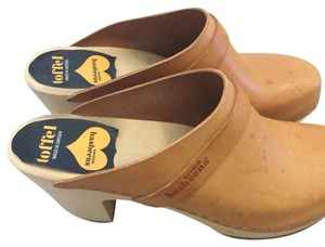 swedish hasbeens Natural Mules