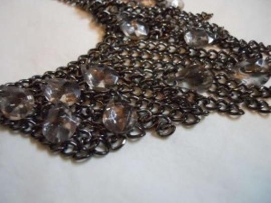 unknown Antiqued silver necklace