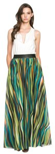 TOV Holy Maxi Long Maxi Skirt Multi