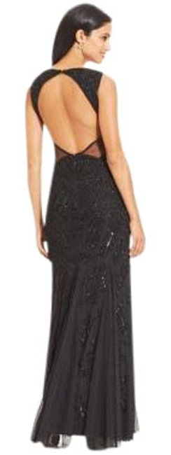Preload https://item5.tradesy.com/images/adrianna-papell-black-fully-beaded-gown-long-formal-dress-size-12-l-19997959-0-1.jpg?width=400&height=650