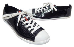 Prada Patent Leather Black Athletic