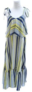 Yellow and blue Maxi Dress by TOV Holy Maxi Tov