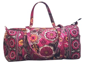 Vera Bradley Duffel Duffel Small Duffel Pink Travel Bag