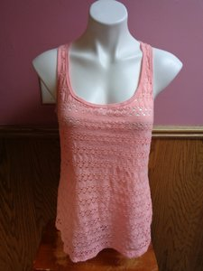 Maurices Racer-back Top Pink