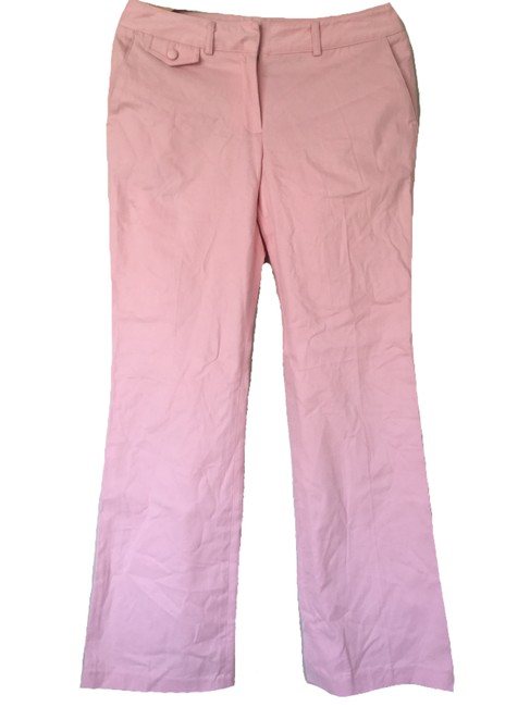 Preload https://item4.tradesy.com/images/tommy-hilfiger-pink-mid-rise-leg-chino-in-flared-pants-size-8-m-29-30-19998173-0-0.jpg?width=400&height=650