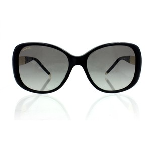BVLGARI Bulgari Serpenti Black Gold and White Women's Sunglasses 8114A