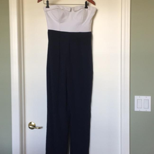Preload https://img-static.tradesy.com/item/19998256/ted-baker-navy-blue-and-white-n-a-long-romperjumpsuit-size-6-s-0-0-650-650.jpg