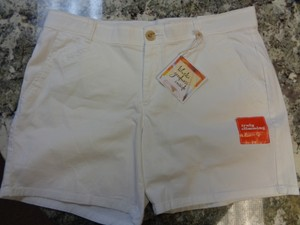 Dockers New Comfortable Shorts White