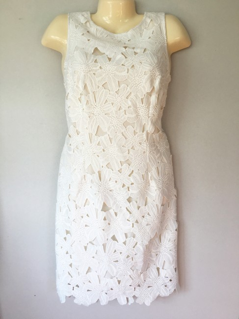 Preload https://item4.tradesy.com/images/ann-taylor-off-white-cut-out-lace-sleeveless-sheath-knee-length-formal-dress-size-10-m-19998353-0-0.jpg?width=400&height=650