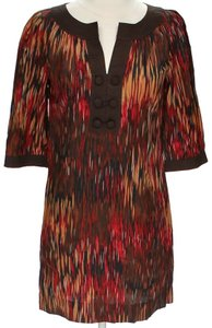 BCBGeneration Bright Print Tunic