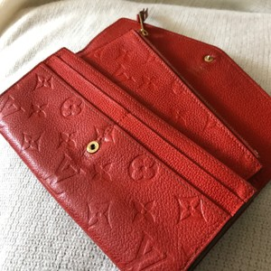 Louis Vuitton Louis Vuitton Empreinte Sarah Wallet With Removable Case