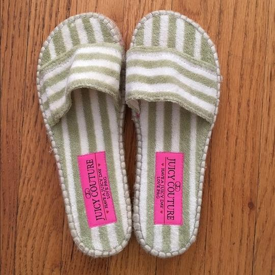 Preload https://img-static.tradesy.com/item/19998373/juicy-couture-green-and-white-striped-teri-cloth-by-sandals-size-us-7-0-0-540-540.jpg