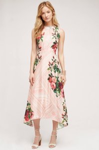 Anthropologie short dress Pink Rose on Tradesy