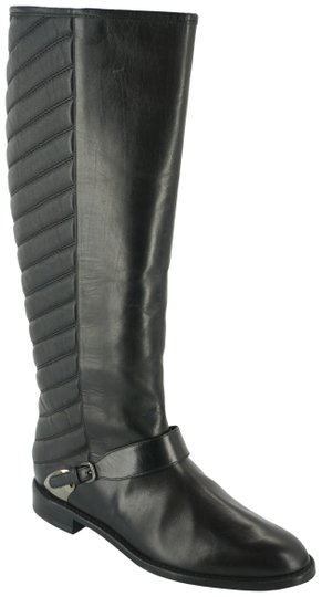 Preload https://item4.tradesy.com/images/stuart-weitzman-black-leather-raceway-quilted-striped-knee-high-riding-bootsbooties-size-us-65-regul-19998538-0-2.jpg?width=440&height=440