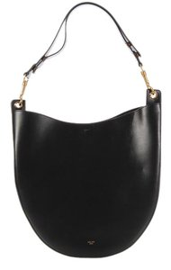 Céline Ce.k0926.09 Calfskin Leather Cross Body Hobo Bag