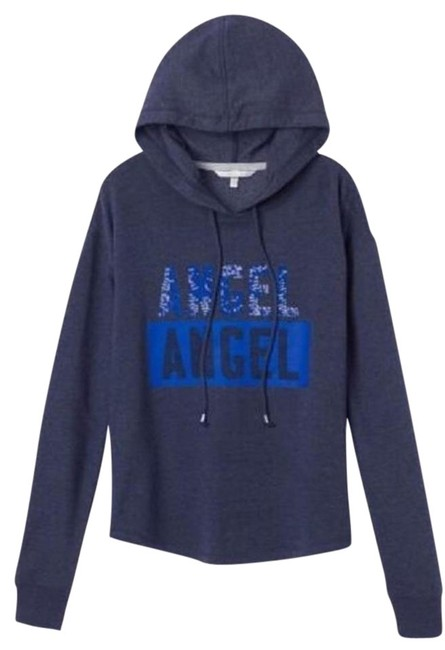 Preload https://item3.tradesy.com/images/victoria-s-secret-navy-blue-angel-sequin-shirttail-hoodie-sweaterpullover-size-6-s-19998612-0-2.jpg?width=400&height=650