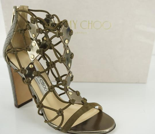 Preload https://item5.tradesy.com/images/jimmy-choo-green-moss-leather-tickle-strappy-knot-caged-sandals-size-eu-355-approx-us-55-regular-m-b-19998714-0-0.jpg?width=440&height=440