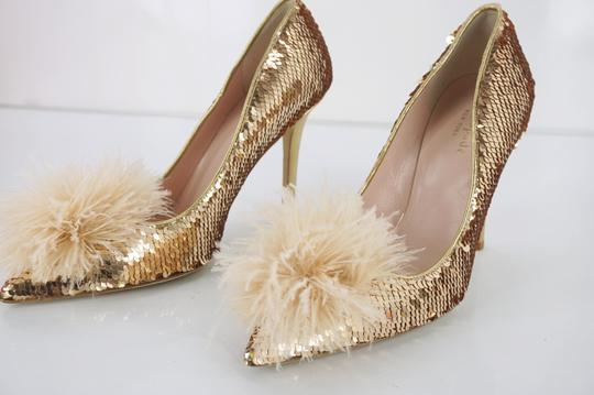 Kate Spade 6102102 Ksny New York Gold Pumps