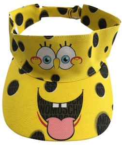 Moschino MOSCHINO x Spongebob Limited Edition Cotton Canvas Visor