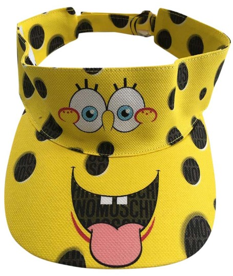 Preload https://img-static.tradesy.com/item/19998827/moschino-yellow-spongebob-limited-edition-cotton-canvas-visor-hat-0-2-540-540.jpg