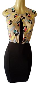 Rachel Roy short dress Black/multi on Tradesy