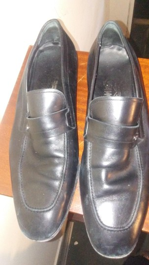 Preload https://item4.tradesy.com/images/salvatore-ferragamo-black-11ee-men-s-soft-leather-loafers-flats-size-us-11-extra-wide-ww-ee-19998883-0-1.jpg?width=440&height=440