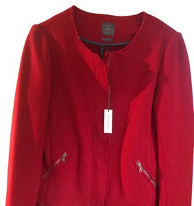 Gap Fitted Classic red Blazer