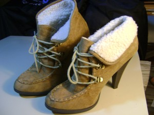 Charlotte Russe Camel Brown Boots