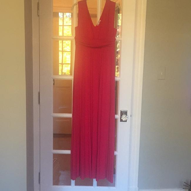 Preload https://item1.tradesy.com/images/ingrid-and-isabel-pink-empire-maxi-maternity-casual-dress-size-8-m-29-19998925-0-0.jpg?width=400&height=650