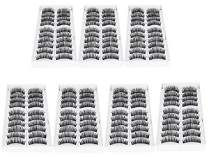 Other SALE! Lot of 70 PAIRS of High Quality Hand Made Synthetic Eyelashes