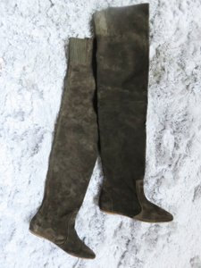 Isabel Marant Olive Green Boots