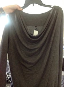 90 Degree by Reflex Active Wear Drapped Neckline Worn Once Detai Longsleeve Sweater