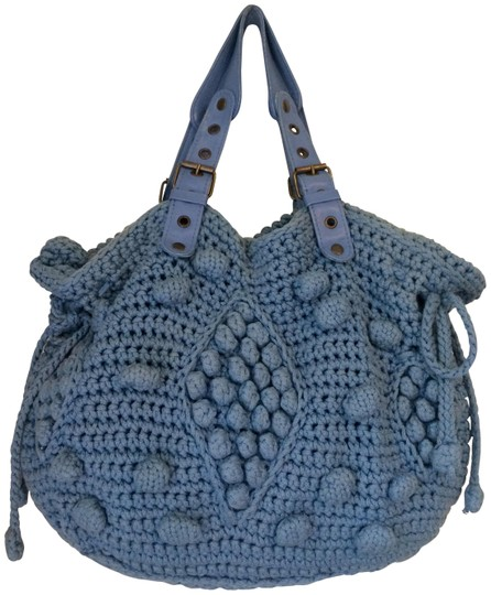 Preload https://item4.tradesy.com/images/gerard-darel-24-heures-handbag-blue-cotton-leather-and-metal-handle-hobo-bag-19999128-0-1.jpg?width=440&height=440