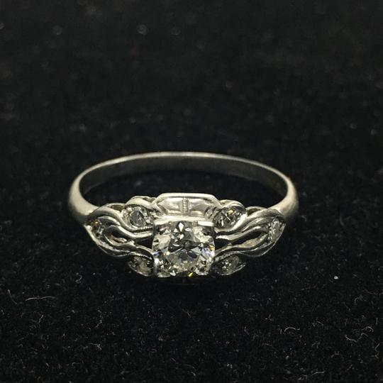 Preload https://img-static.tradesy.com/item/19999309/white-gold-glorious-050-carat-diamond-platinum-engagement-ring-0-0-540-540.jpg