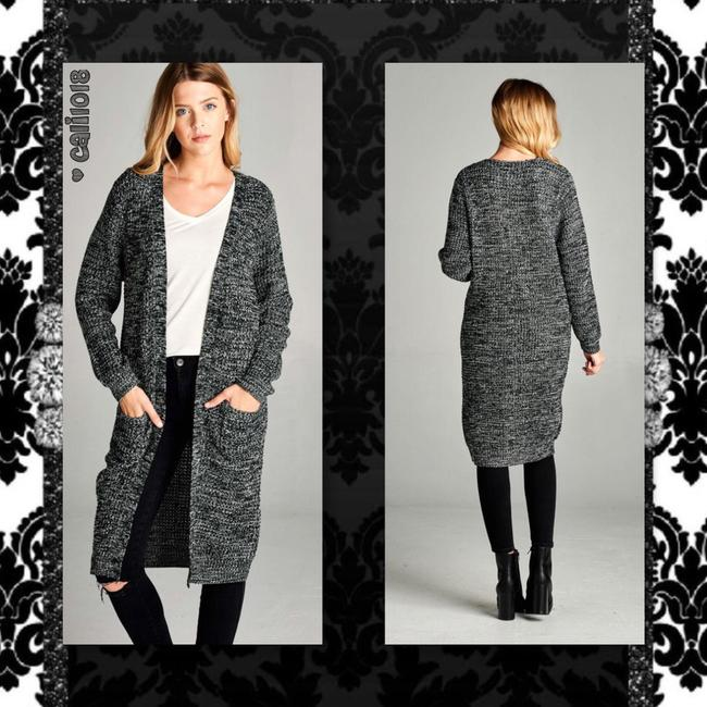 Other Maxi Midi Open Front Duster Cardigan