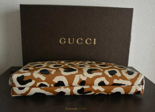 Gucci Gg Back Cosmetic Cosmetic Beige Travel Bag