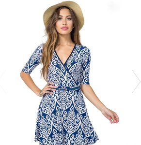A'GACI short dress Blue on Tradesy
