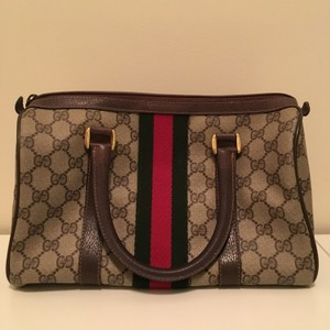 Gucci Speedy Monogram Vintage Hobo Bag