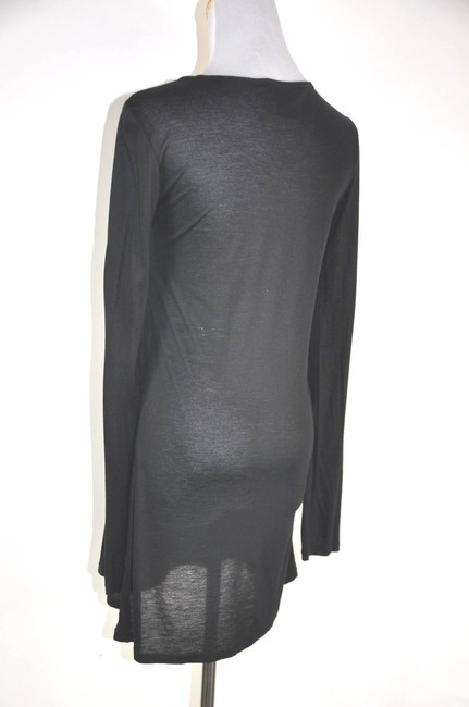 Thomas Wylde Crystal Embelished Long Sleeve Shirt Dress Tunic