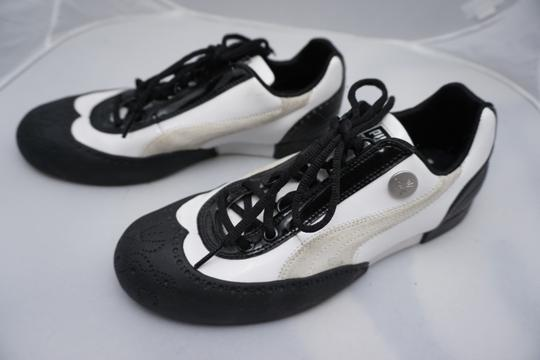 miharayasohira for puma Limited Edition Wingtip Unique black and white Athletic