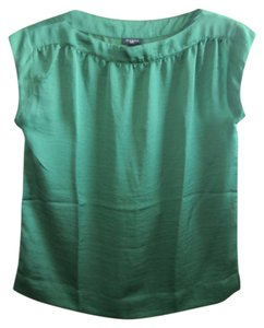 TALBOTS Top EMERALD GREEN