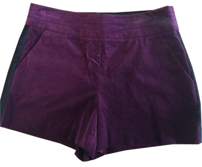 Preload https://img-static.tradesy.com/item/20000163/trina-turk-purple-mid-rise-velvet-tuxedo-in-dress-shorts-size-4-s-27-0-1-650-650.jpg