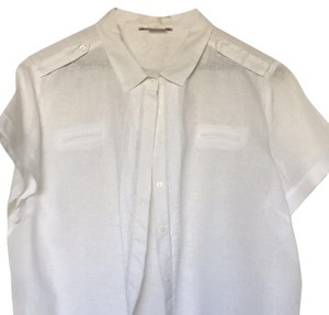 GERARD DAREL Button Down Shirt White