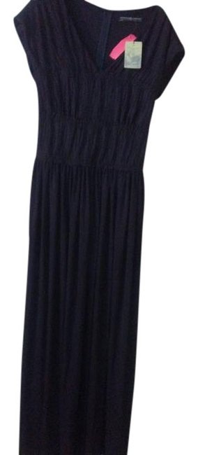 Preload https://item2.tradesy.com/images/peruvian-connection-black-new-gathered-long-night-out-dress-size-6-s-20000236-0-1.jpg?width=400&height=650