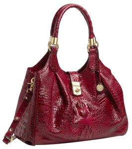 Brahmin Tote in Red